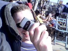 Stevie paparazzi in Scheveningen (Michiel020) Tags: scheveningen pope steven beach sun spring solbeach