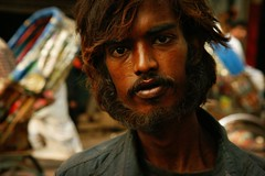 bangladeshi man - portrait color travel man beard phitar bangladesh asia bangladeshi