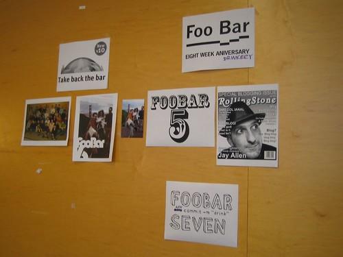 Foo Bar Logos