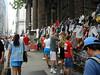 Broadway - Sept, 2002 (dulcelife) Tags: 911 wtc newyorkcity newyork wallstreet worldtradecenter twintowers dulcelife path financialdistrict disaster groundzero olympus olympus4500