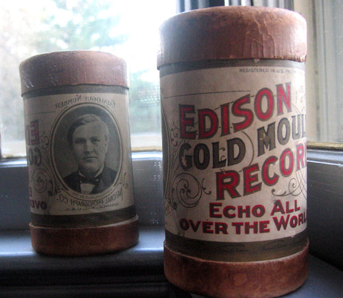 Edison Records Echo Around the world ad