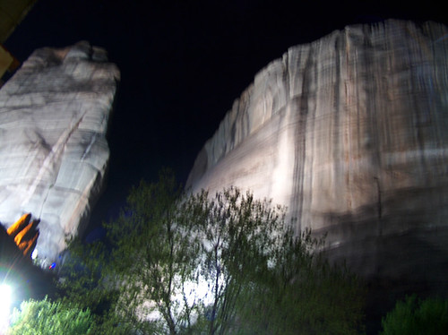 Kalambaka at night