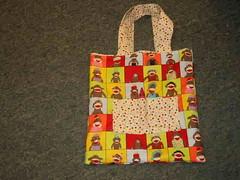 crayon mky bag (craftyadd) Tags: monkeybag monkeybagcloseup