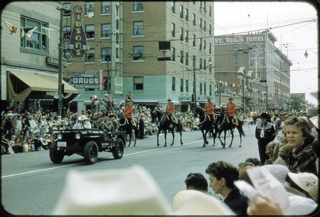 Calgary Stampede Parade, vintage (080)