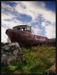 Stranded (Cilest) Tags: old ireland boot boat rust ship searchthebest cilest kurt topc50 rusty tlpoedeleted ark rost noahs topcso