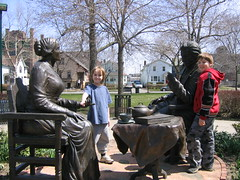 Susan B. Anthony Square Statue