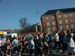 Startup of half marathon run