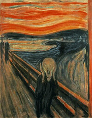 edvard munch - the scream 1893 by oddsock on Flickr!