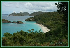 Turquoise Beauty - Trunk Bay (**Mary**) Tags: cruise holiday beach water wow wonder landscape ilovenature islands coast sand turquoise shoreline aquamarine stjohn shore caribbean fengshui zoomzoom picnik usvirginislands trunkbay top20natureshots top20landscapeshots 5photosaday 5halloffame
