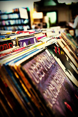 Old Vinyl (fensterbme) Tags: records 20d vintage wow interestingness lomo dof album vinyl used albums osu lp record columbusohio recordstore fenstermacher processed effected canonef2470mm28lusm ef2470mmf28lusm fauxlomo stacks longplay deeppurple 3313 vinylrecord canon2470f28 canon2470mml canon2470f28l usedrecords canonl canonef2470mmf28l 3313rpm i500 interestingness383 explore02feb06 usedkids llenses canon2470f28lusm dollarbin usedvinyl