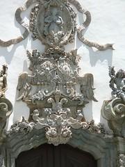 Detalhe da portada da igreja de So Francisco (Alexandre Machado) Tags: janeiro frias 2006 mg aleijadinho sojoodelrei