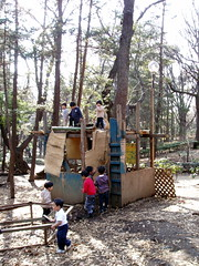 fort () #1874 (Nemo's great uncle) Tags: park playground kids play mud