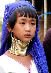 Inle Lake 11-year old Padaung girl (Sam's Exotic Travels) Tags: portrait people lake girl portraits neck necklace asia southeastasia long sam faces state burma hill karen ring rings longneck myanmar inle shan ethnic brass burmese mujeres birma sams coils bodymodification indigenous hilltribes padang hilltribe longnecktribe karentribe padong longnecks padaung birmanie collo kayan longo travelphotos birmania longneckkaren mujeresjirafa burmeseborder paduang samsays samsexotictravelphotos exotictravelphotos samsayscom