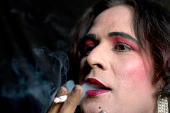 Thick Smoke (Fayyaz Ahmed) Tags: pakistan abstract color male sex female magazine mr cigarette smoke smoking conceptual transexual crossdresser gender eunuch hijra