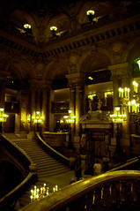 It's All A Bit Grand (ClydeHouse) Tags: paris opera velvia staircase opra garnier escalier ix palaisgarnier 9e opragarnier byandrew charlesgarnier 75009 opranationaldeparis