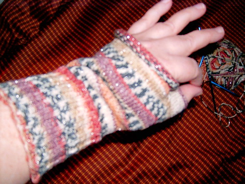 Wrist Warmer #1 is complete!