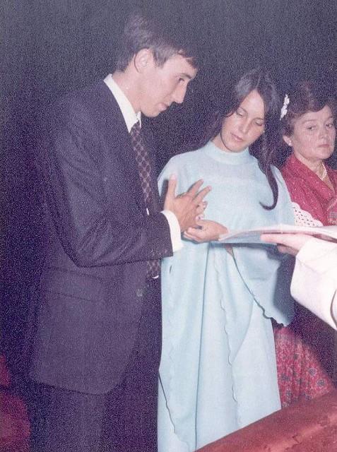 Boda en la Basílica de Begoña (26-8-1977)