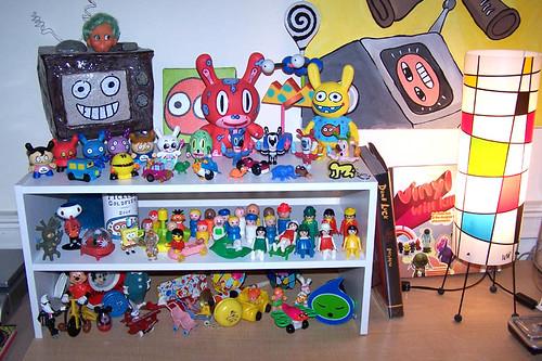 New shelf I got today for my toys...