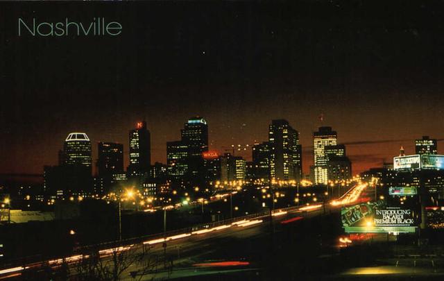 1989 Post Card - Nashville Skyline