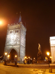 Prague at night... (LukeDaDuke) Tags: night prague praha czechrepublic charlesbridge karluvmost
