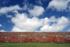Colored Fortress (Calovi) Tags: orange color public colors stone architecture cores uruguay colours couleurs colonial colores fortress farbe colori santateresa farben uy calovi