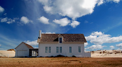 beach house (tearapen73) Tags: sky clouds sand dunes northcarolina nagshead outer outerbanks banks beachhouse