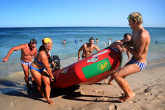 The long haul (sengsta) Tags: beach competition lifesaver surfclub surflifesavers northcottesloe