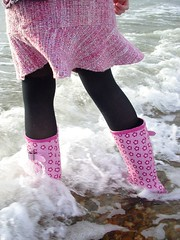 Waves (. Az) Tags: ocean blue sea water waves wellingtonboots jonimitchell cicobuff