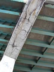 decaying concrete (TripleA) Tags: toronto gardiner expressway