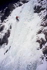 Taikonaut (Dru!) Tags: winter canada cold ice climb frozen bc britishcolumbia climbing climber rappel iceclimbing lillooet goldbridge taikonaut abseil stemalot firstascent stevenharng terzaghidam bridgerivericeclimber