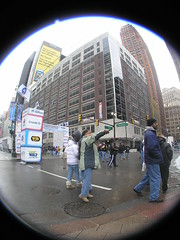 Directions (SNWEB.ORG Photography, LLC.) Tags: world 2005 show city winter urban distortion fish building eye tower abandoned architecture mi facade buildings festive lens grit waiting theater downtown exterior view angle theatre grim decay michigan urbandecay detroit wide progress grand wideangle super bowl gritty historic full fisheye 180 event national dev vacant frame mich fieldofview february superbowl fullframe grime visitors xl development decayed bldg abandonedbuilding fisheyelens 180degrees unused urbanblight improvements downtowndetroit waynecounty orante perspectiv vaudville superbowlxl fisheyedistortion bldgsmotownwinterblast fullframefisheye