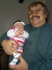 GAU the day she was born and proud grandpa (mnbass1) Tags: granddaughters gau