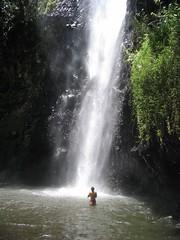 Vaiharuru fall, Tahiti