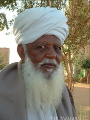 -Sheikh- (Vt Hassan) Tags: africa old portrait people man muslim sudan muslims sufi sufism sheikh theface