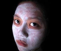 Facial (Vena Kava) Tags: china girl beautiful beauty dark asian frozen eyes republic peoples mysterious cosmetics sublime facial