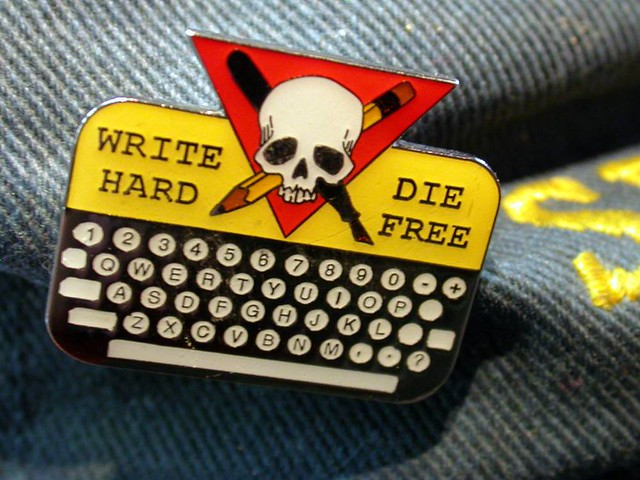 Write hard, die free