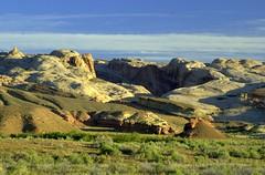 Utah Roadtrip Highway 50 (ONE/MILLION) Tags: road trip blue sky usa mountains love nature clouds america utah rocks roadtrip hike