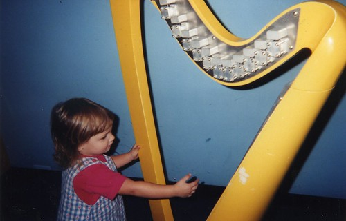 Playing the magic harp