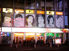MTV Times Square by wooohooo, on Flickr