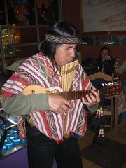 Peruvian musician (quinet) Tags: musician peru cuzco cusco pipes andes pan