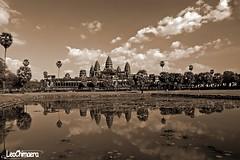 Angkor Wat Sepia