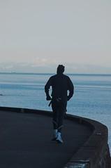 Seawall Runner (not the flickr one) (Ross Belot) Tags: vancouver seawallrunner