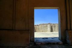 TEOTIHAUCAN (ricko) Tags: wall mexico deleteme10 doorway pyramids teotihaucan