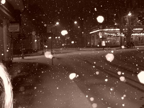 Odessa im Schnee
