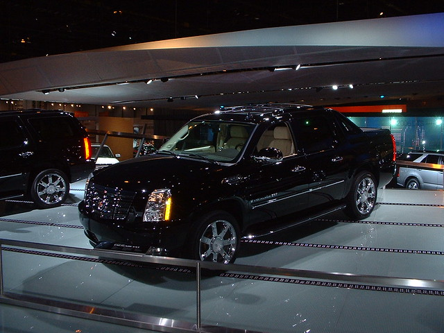 auto show chicago cadillac naias 2007 escalade ext