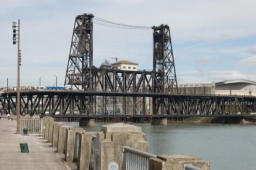 Portland Vacation: Steel Bridge