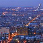 Mont-Royal Avenue at dusk | Montreal, Canada | HDR | davidgiralphoto.com