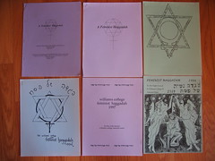Star of David on Feminist Haggadah editions