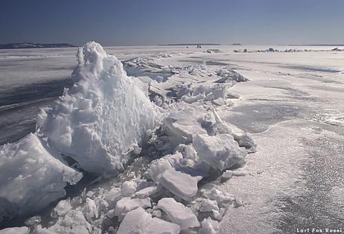 """Ice Ridge on the """"Big Lake"""""""