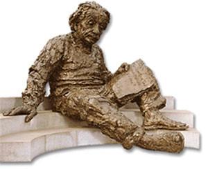 Albert Einstein Sculpture: National Academy of Sciences
